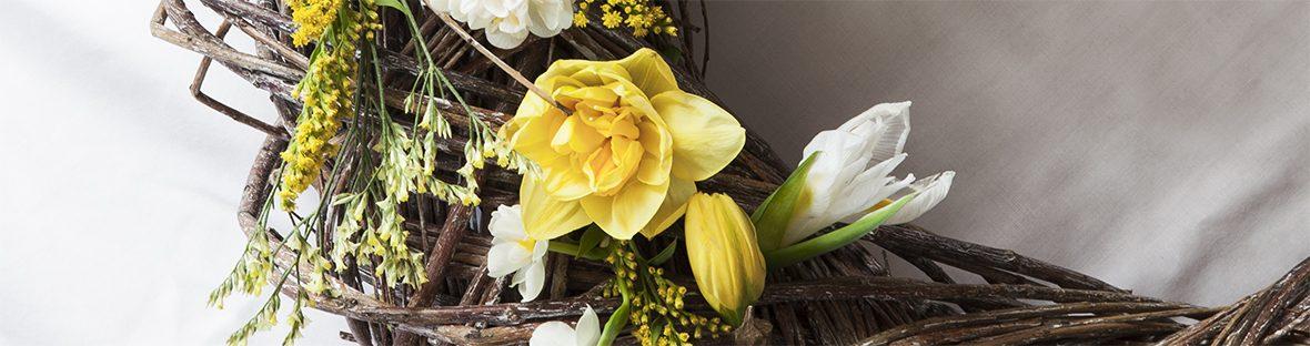 Blumengrüße zu Ostern