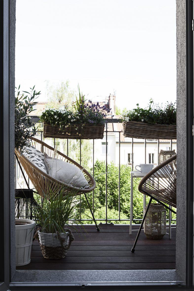 Im Grünen und doch in der Stadt - Balkoninspirationen für den Sommer -